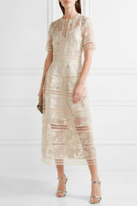 Image Is Loading Lt 70 Off Gt Zimmermann Lace Trimmed Embroidered