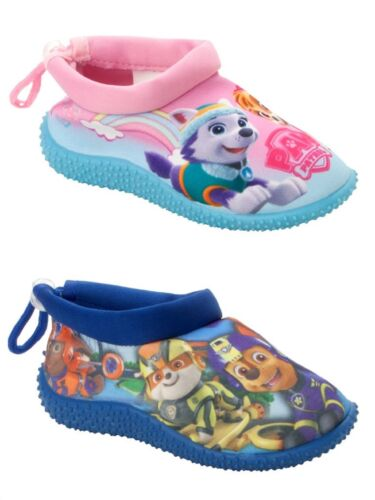 BOYS GIRLS PAW PATROL AQUA BEACH SURF WET WATER SOCKS SHOES SWIMMING BEACH POOL