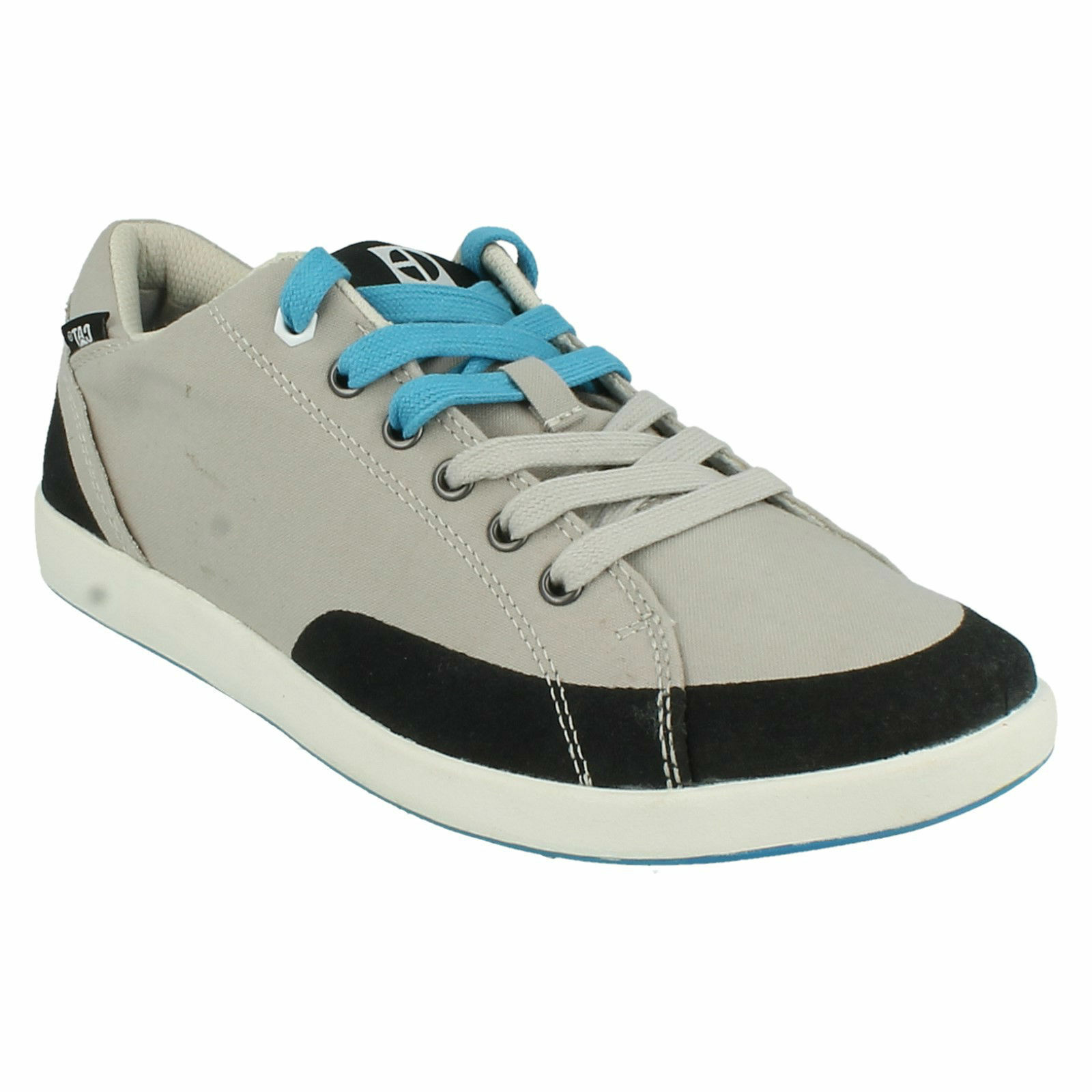CATERPILLAR CENTRIC CANVAS MENS LACE UP CASUAL TRAINERS EVERYDAY SHOES P716108