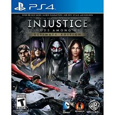 Injustice: Gods Among Us - Ultimate Edition [PlayStation 4 PS4, DC, Fighting]