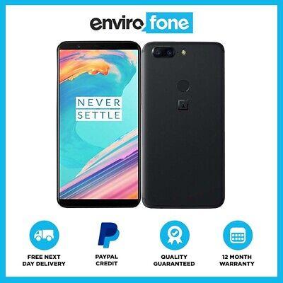 OnePlus 5T 64GB 128GB Android SIM Free Unlocked Refurbished Smartphone