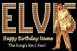 ELVIS-Personalised-Birthday-Card-THE-KING-039-S-No-1-Fan-ANY-AGE-ANY-NAME-7