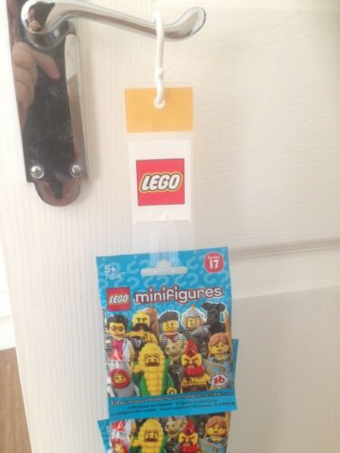 Baukästen & Konstruktion LEGO Bau- & Konstruktionsspielzeug Lego minifigures series 17 unopened sealed random mystery blind bags packs