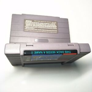 Details about Super Mario World: This Hack Needs A Name SNES Super Nintendo  NTSC ROM hack game