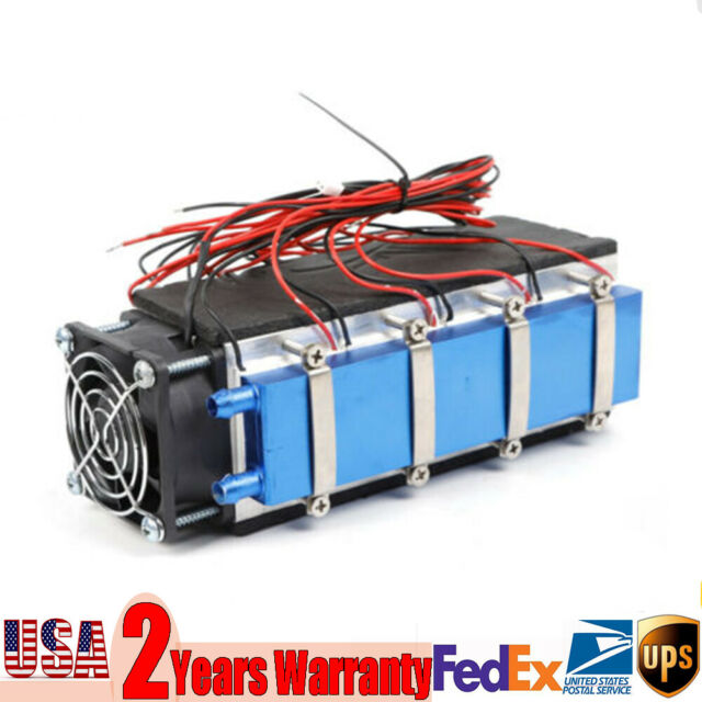 Peltier Cooler 12V Semiconductor Refrigeration Thermoelectric Water Cooling 72w