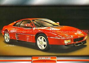 FERRARI-348-1989-Fiche-Auto-Collection