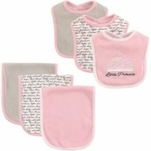 Hudson-Baby-Bib-and-Burp-Cloth-6-Piece-Set-Princess