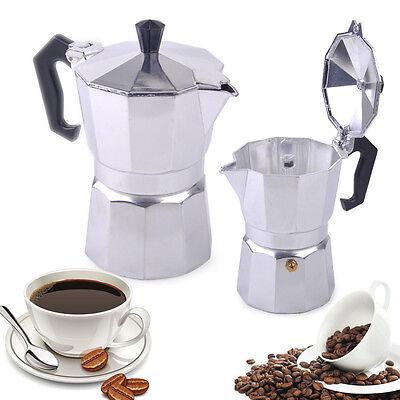 3//6//9//12 Cup Stove Top Expresso Coffee Percolator Moka Pot Latte Maker Kettle