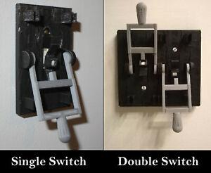 Black-Frankenstein-Single-Light-Switch-Cover-Flip-Handle-Decor-Mad-Scientist