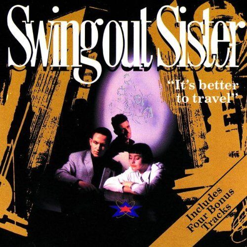 1 of 1 - Swing Out Sister - It's Better To Travel - Swing Out Sister CD MCVG The Cheap