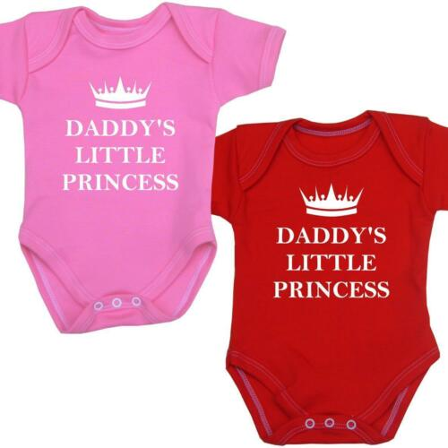 BabyPrem Baby Clothes Daddy/'s Princess Bodysuit One-Piece Vest Shower Gifts 0-12