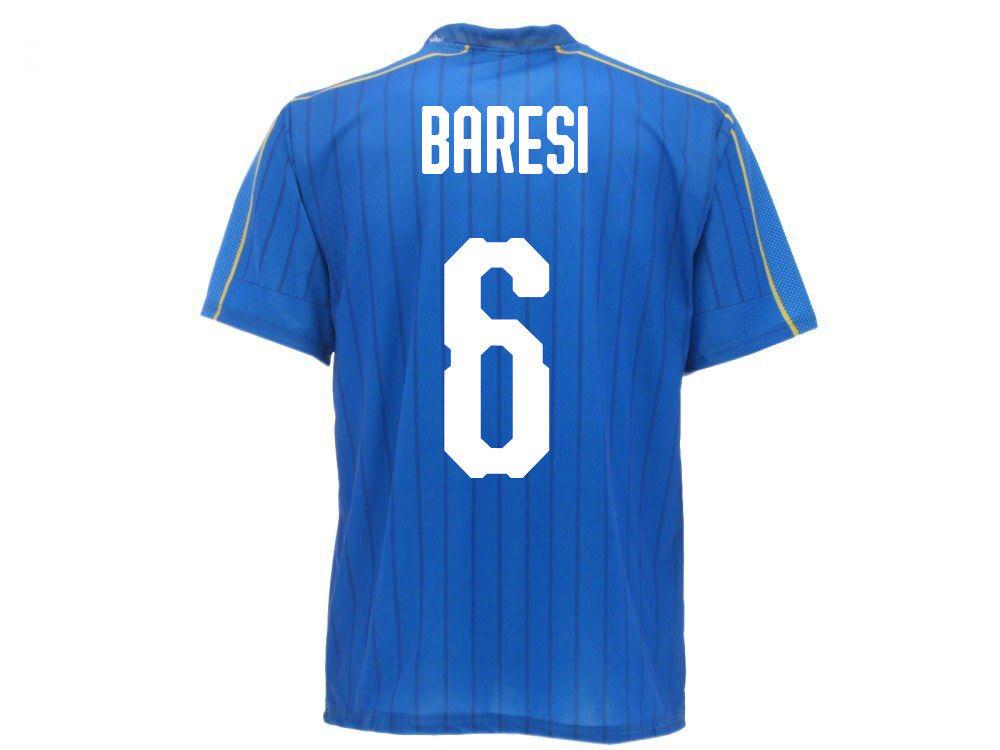 Maglia Ufficiale Italia Baresi Nazionale Federazione FIGC  Franco 6