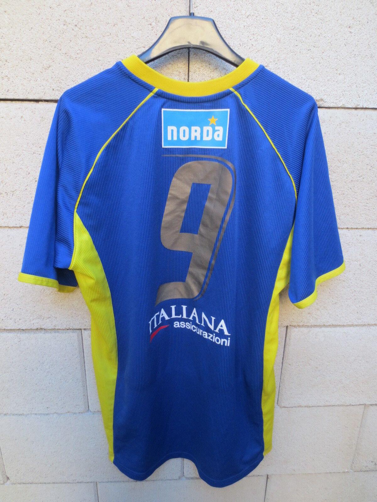 Maillot porté RUGBY shirt PARMA F.C maglia indossata match worn shirt RUGBY n°9 Tepa Sport 8d4590