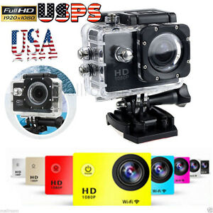1080P HD SJ5000 Waterproof 12MP Helmet Action DV Camera Cam DVR Camcorder US