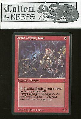 The Dark MTG Magic MP 4x Goblin Digging Team
