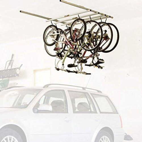 Saris Glide Bike Storage Ceiling Rack and Add-on Kit