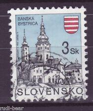 Slowakei Nr.  206  gest.  Städte Baňská Bystrica Neusohl Besztercebánya -5
