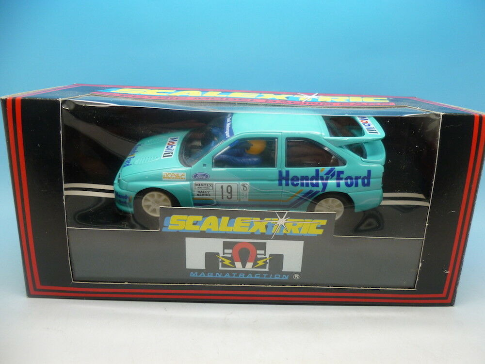 Scalextric C403 Ford Escort Cosworth Hendy, mint unused