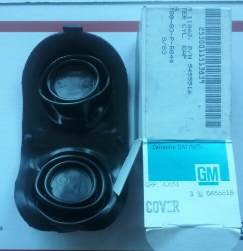 NOS OE GM Chevy Corvette Brake Master Cylinder Cap Cover Rubber Gasket 1967-1982