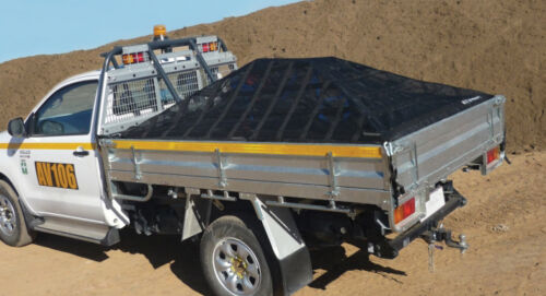 Heavy Duty Pickup Truck Cargo Net 10/' x 12/' XGN-100 Gladiator Cargo Gear