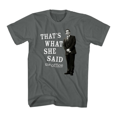 The Office Michael Says That/'s What She Said Adult T Shirt