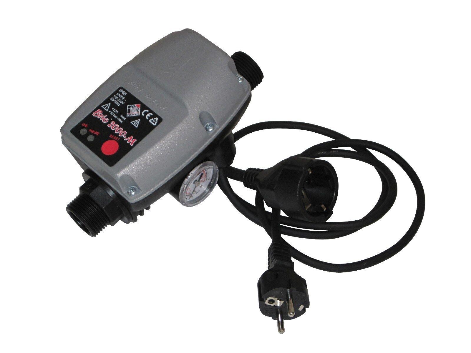 Brio 2000 M con bombas de cable control interruptor de presión presscontrol Made in