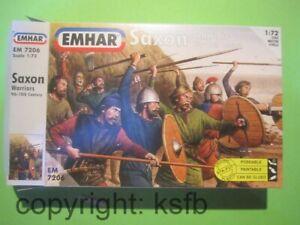 1-72-Emhar-7206-Mittelalter-Sachsen-Ritter-England-Saxons-Knights-Wikinger-Roemer
