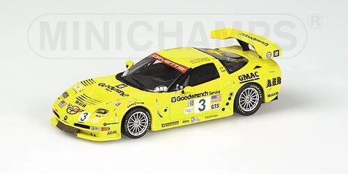 Corvette C5-r 12h Sebring 2002 Winner Gts Class Fellows 1 43 Model ACTION