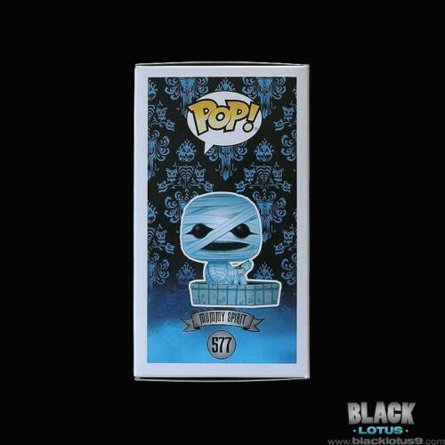 Mummy Spirit Disney The Haunted Mansion 50th  IN STOCK Pop 577 NEW Funko Pop
