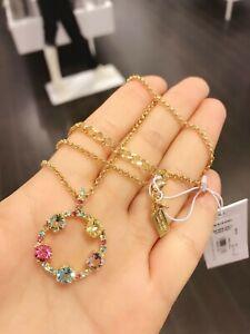 NWT-Kate-Spade-o0ru1787-Carnival-Crystal-Necklace-Multi