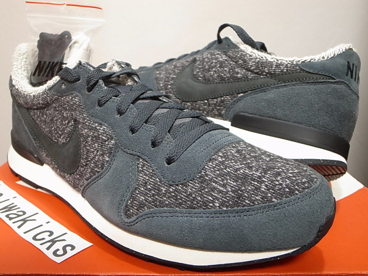 2014 LOOPWHEELER x NIKE INTERNATIONALIST PRM QS JAPAN EXCLUSIVE 637998-002 sz 10