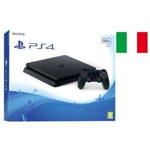 SONY-PLAYSTATION-PS4-SLIM-500GB-CHASSIS-F-CUH-2216A-BLACK-GARANZIA-ITALIA