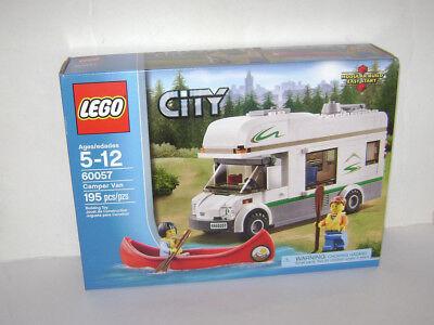 NEW SEALED LEGO 60057 CITY CAMPER VAN RV CANOE RECREATIONAL VEHICLE OUTDOOR