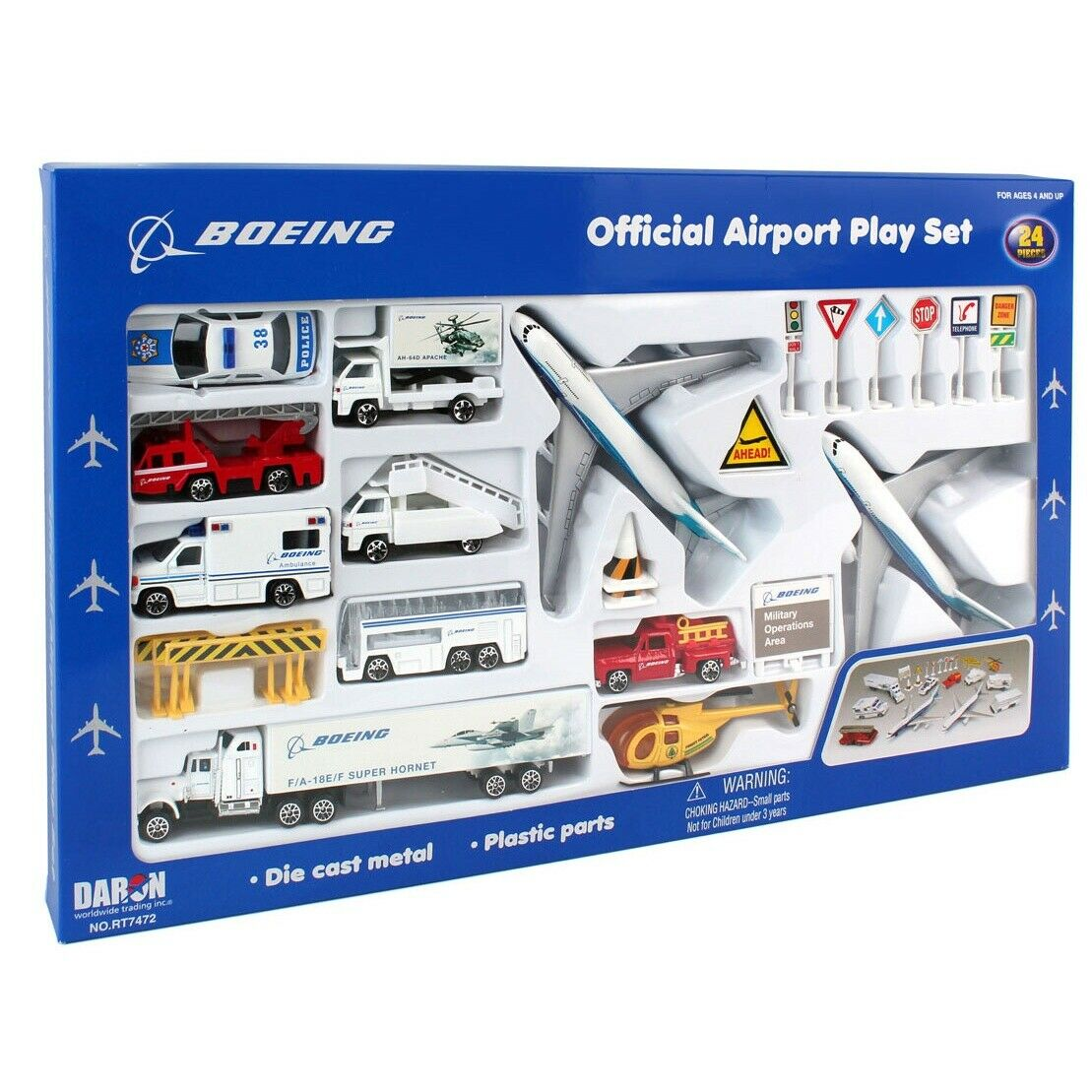 Boeing Collection Boeing Official Airport Play Set