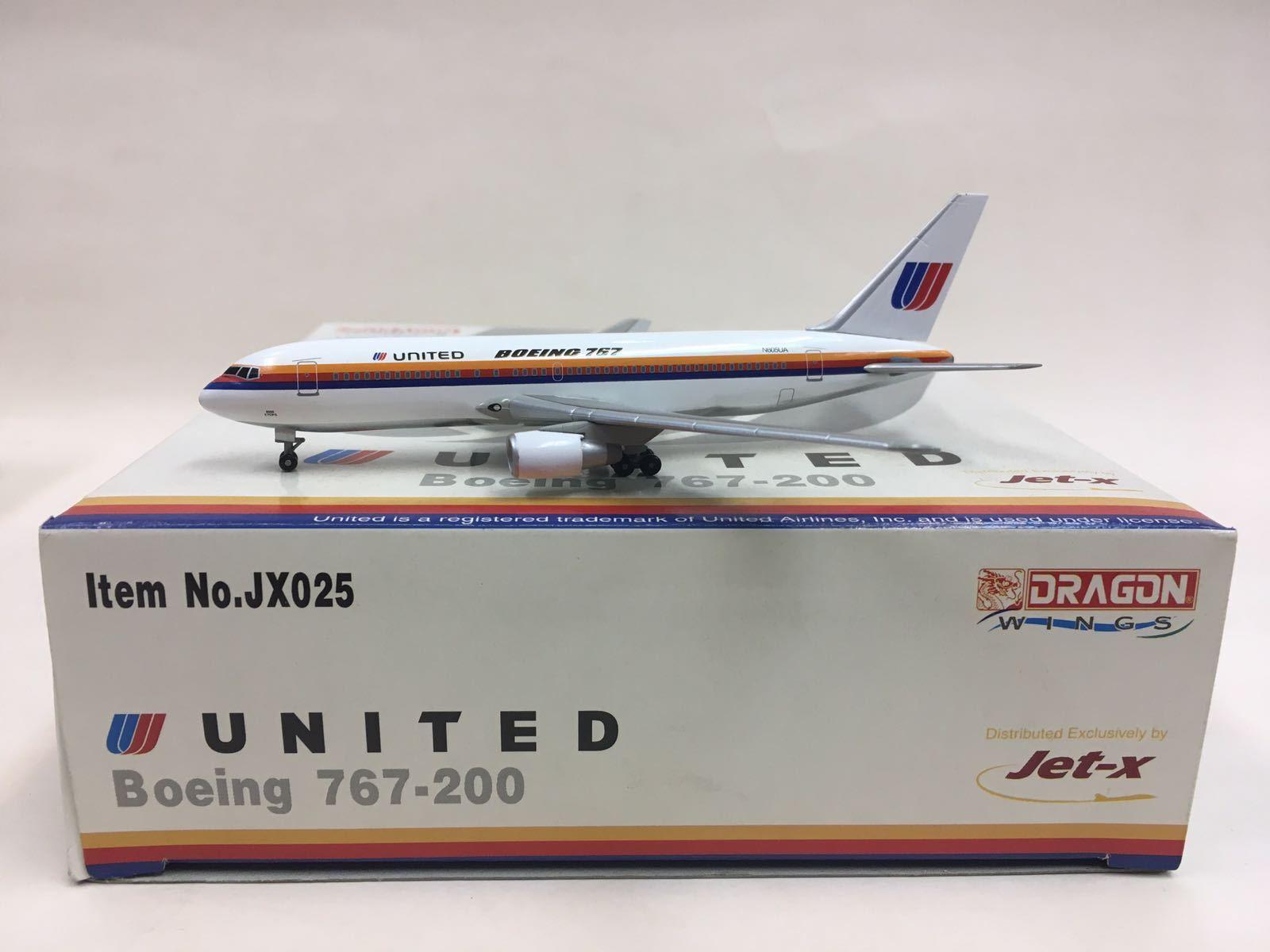 Alas de dragón Jet-x United Airlines Boeing 767-200 1 400 JX025 N605UA