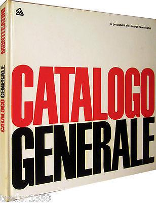 MONTECATINI catalogo generale Le produzioni del Gruppo Montecatini 1961