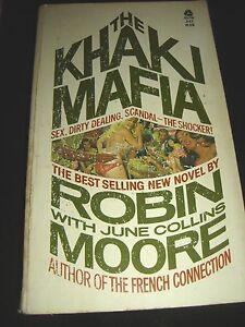 The-Khaki-Mafia-By-Robin-Moore-1st-Avon-Printing-Oct-1972-Paperback