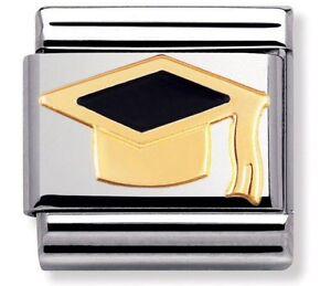 Nomination encanto negro látigo y sombrero RRP £ 22