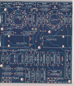 Incredible Stereo Tube Tone Control Baxandall For 12Ax7 Ecc83 Bare Pcb Treble Wiring Database Denligelartorg