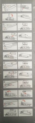 "MAZDA RX7-COUPE UNIVSL AERO FLAT MULTI-FIT WINDSCRN WIPER BLADES 2 x 20/""510MM"