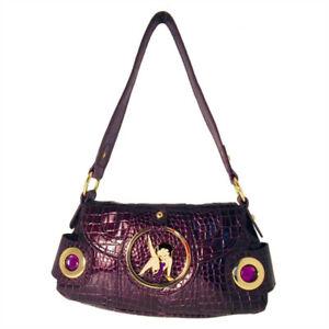 Betty Croc Purple Evening Mock Handtas Boop pqSLMGUzV