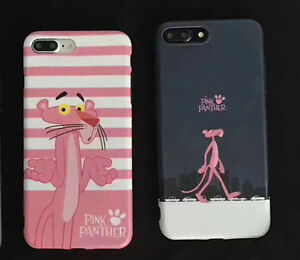 coque iphone 8 plus panthere rose