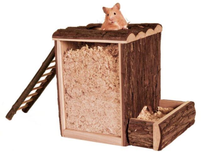 Trixie Natural Living Gioco & Buddelturm per Roditore & Piccoli Animali,