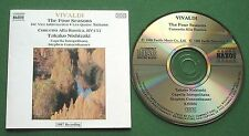 Vivaldi Four Seasons + Takako Nishizaki Capella Istropolitana Gunzenhauser CD