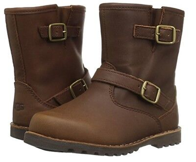 2ceaf2edcc4 NEW TODDLER INFANT UGG BOOT HARWELL STOUT BROWN CHOCOLATE 1001515T ...