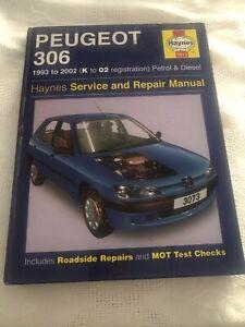 Libro Manuale Peugeot 306 1993 To 2002 Service Manual Ebay