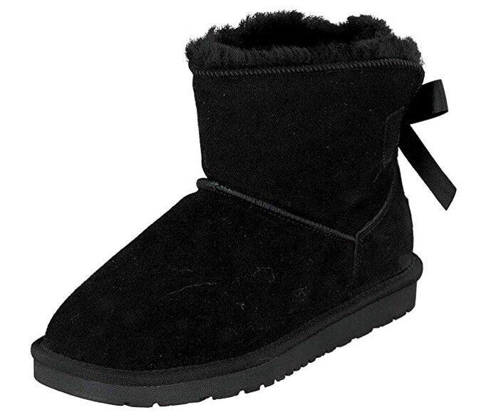 BONOVA Women's Boots Black UK 6 EU 39