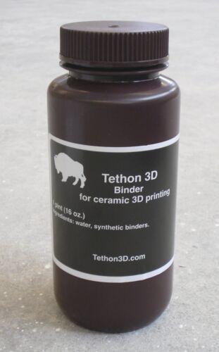 Tethon 3D binder for ZCorp 3D printers - one liter bottle