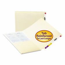 Smead Folders Front Interior Pocket Straight End Tab Letter Manila 50box 24115