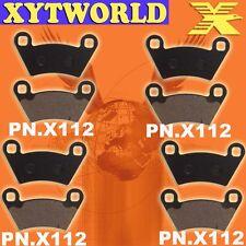 Front Rear Brake Pads Polaris 700 Ranger 6x6 EFI 06-09